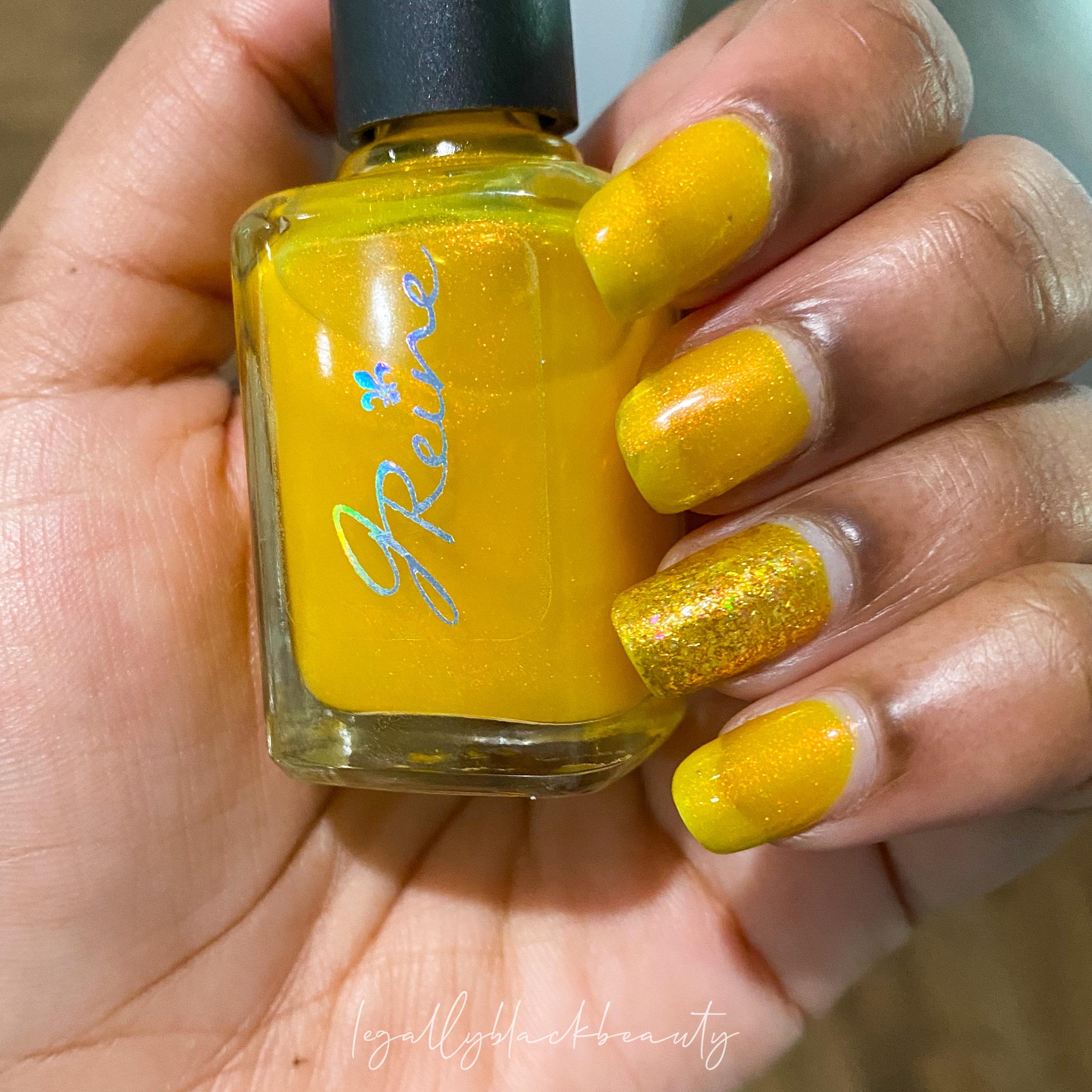 Jreine Blazing Beryl Pahlish El Dorado Nail 6