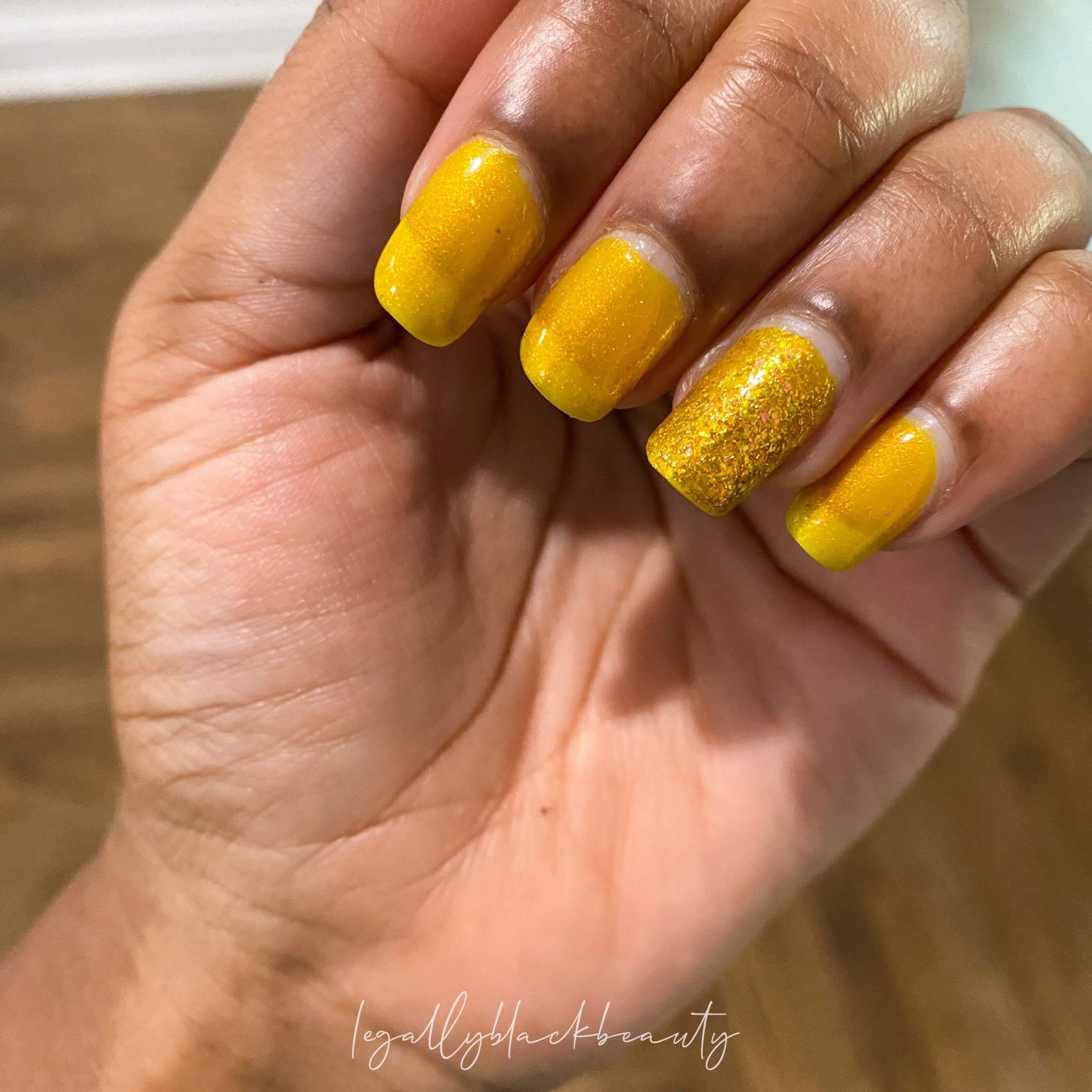 Jreine Blazing Beryl Pahlish El Dorado Nail 1