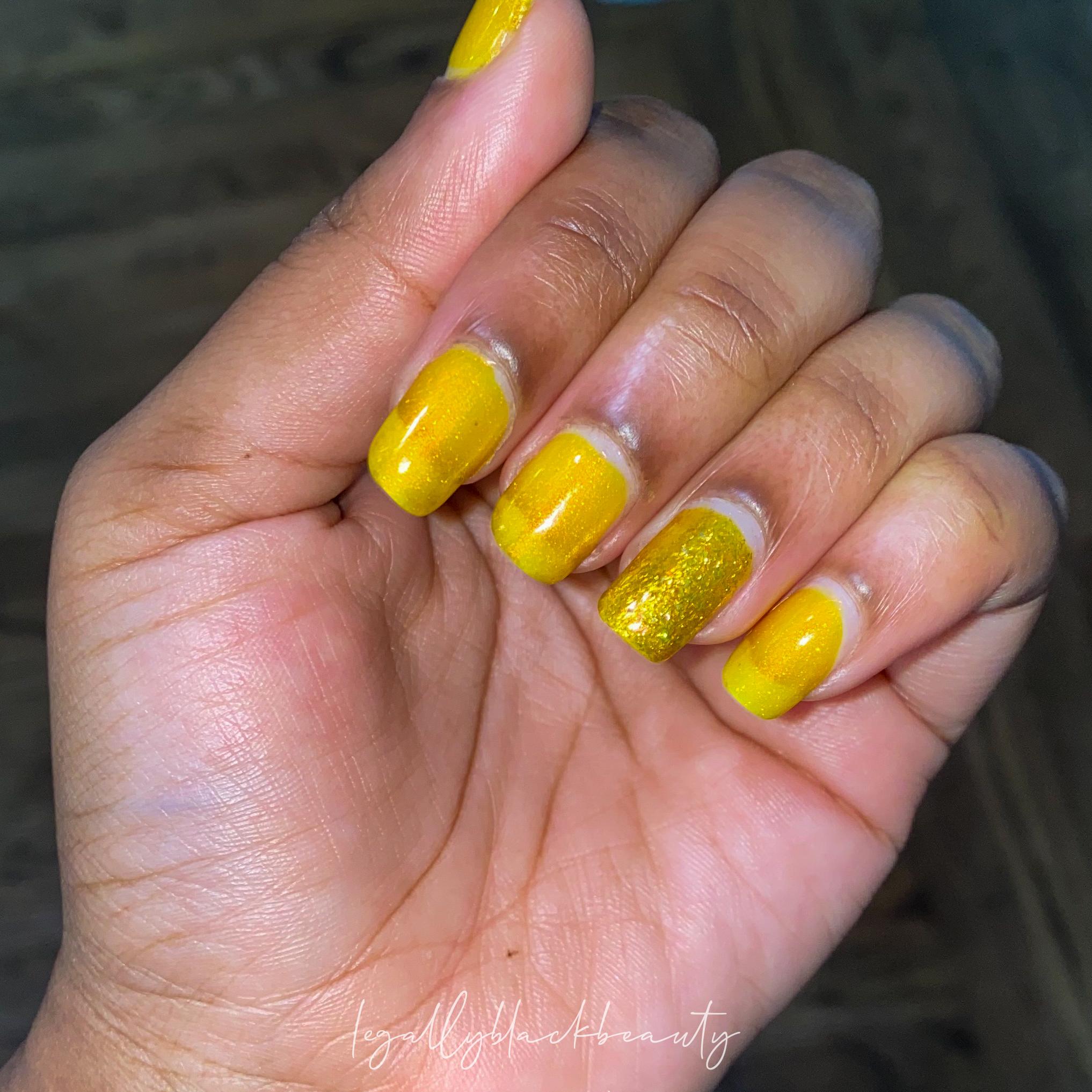 Jreine Blazing Beryl Pahlish El Dorado Nail 2