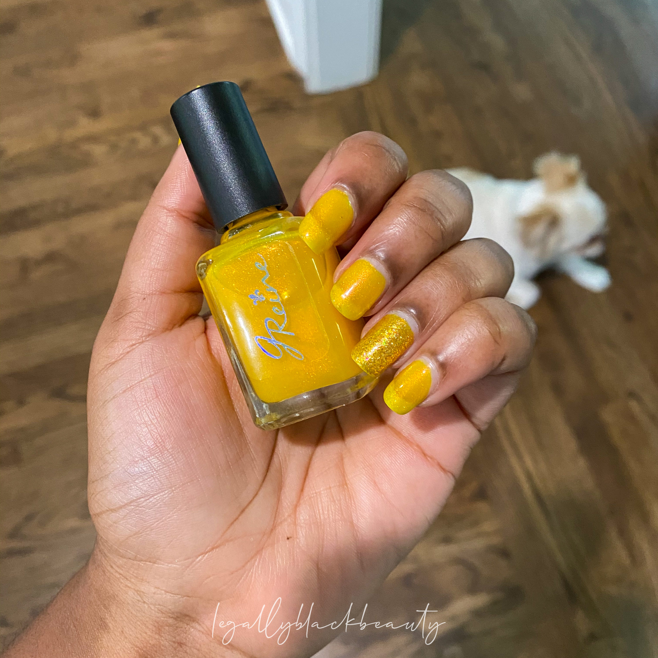 Jreine Blazing Beryl Pahlish El Dorado Nail 3